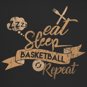 EAT SLEEP BASKET REPEAT - Trucker Cap