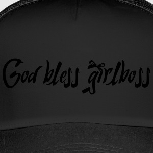 God bless girlboss - Trucker Cap