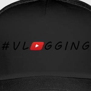 YouTube #Vlogging - Trucker Cap