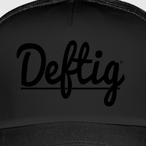 Deftig_underline_black - Trucker Cap