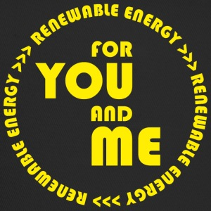 RENEWABLE energy for you and me - yellow - Trucker Cap