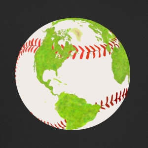 baseball globe earth planet earth globe - Trucker Cap