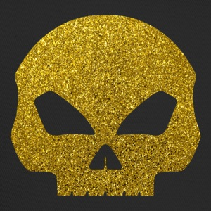 Crâne d'or - Golden Skull Glitter or - Trucker Cap