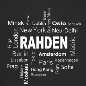 Rahden New York Berlin - Trucker Cap
