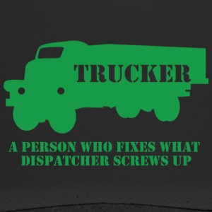 Trucker / Truck Driver: Een persoon die wat fixes - Trucker Cap