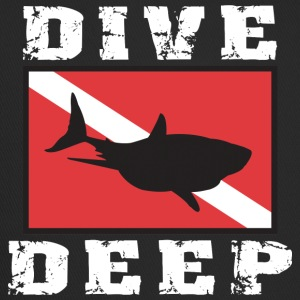 SCUBA DIVE DEEP SHARK - Trucker Cap