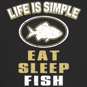 Eat Sleep Fish - Trucker Cap