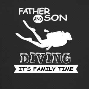 Father And Son - Diving - Trucker Cap