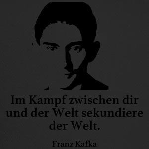 Kafka: In the fight between you and the world secondary - Trucker Cap