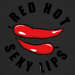 06-43A Red Hot Sexy Lips - Chili lips - Trucker Cap