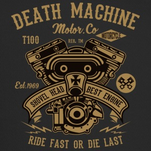Death Machine2 motorbensin julklapp - Trucker Cap
