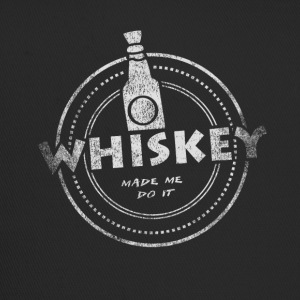 Whiskey Made Me Do It T-Shirt - Trucker Cap