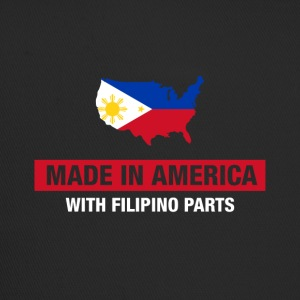 Made In America Avec Filipino Parts Philippines - Trucker Cap