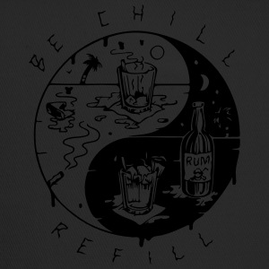 Be chill refill ying yang - Trucker Cap