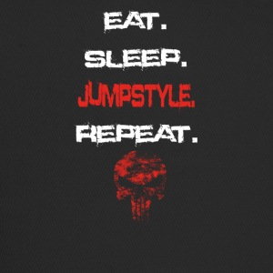 eat sleep repeat geschenk JUMPSTYLE - Trucker Cap