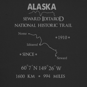 "Alaska ""Iditarod National Historic Trail"" - Trucker Cap"