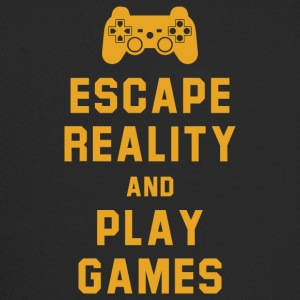 Escape reality and play games - Trucker Cap