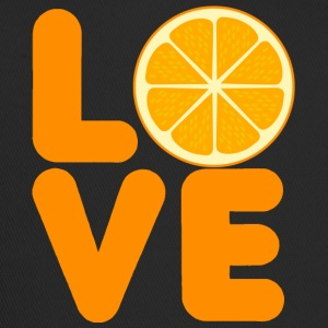 Frucht / Früchte: Love Orange - Trucker Cap