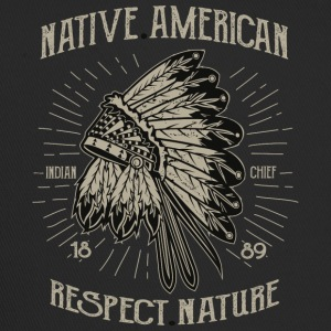 Native American 1 2 - Trucker Cap