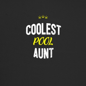 Distressed - COOLEST POOL AUNT - Trucker Cap