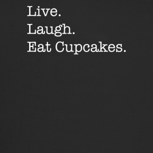 Live Laugh Cupcakes - Trucker Cap