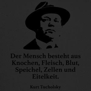 Tucholsky: Man consists of bones, Fleisc - Trucker Cap