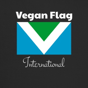 Offizielle Vegan Flag International Flagge Fahne - Trucker Cap