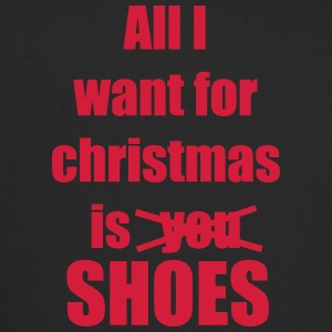 Christmas song saying shoes - Trucker Cap