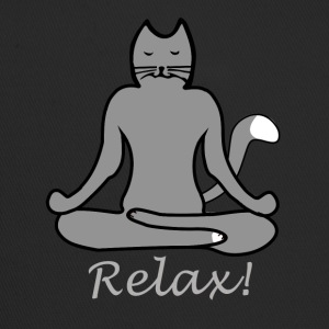 Relax Yoga Cat - Trucker Cap