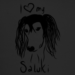 I love my saluki - Trucker Cap