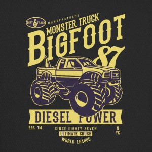 MONSTER TRUCK BIG FOOT - Retro Truck Shirt - Trucker Cap