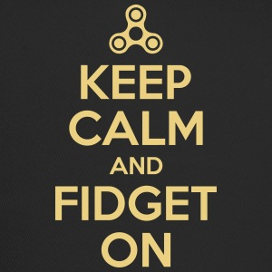 Keep Calm and fidget På - Trucker Cap