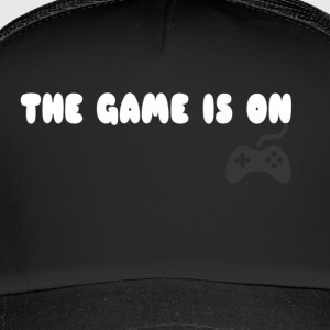 THE GAME IS ON T-SHIRT - Trucker Cap
