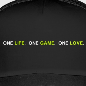 One Life Et spil One Love v2 - Trucker Cap