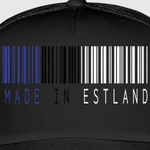MADE IN ESTLAND BARCODE - Trucker Cap