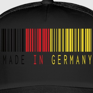 MADE IN GERMANY BARCODE - Trucker Cap