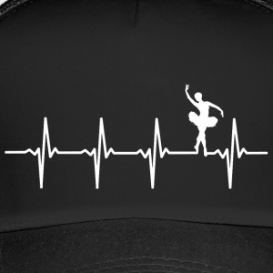 Your heart beats for ballet? - Trucker Cap
