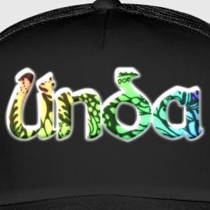Linda romantisches Namensdesign Vorname - Trucker Cap
