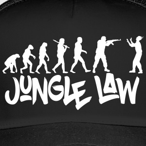 JUNGLE_LAW - Trucker Cap