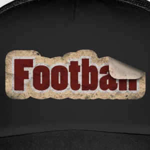 Autocollants de football - Trucker Cap