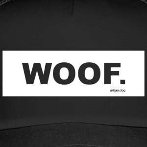 WOOF urban.dog White - Trucker Cap
