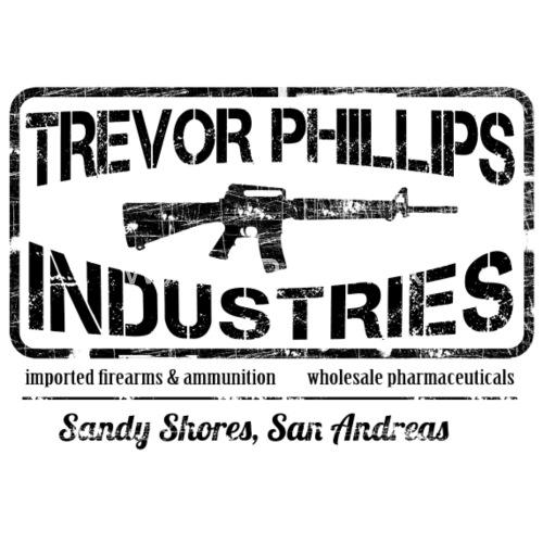 Trevor Philips Industries - Gorra trucker. delante. Diseño 2aaad2149ac