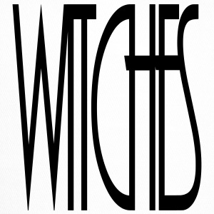 WITCHES Witch Statement lettering lettering - Trucker Cap