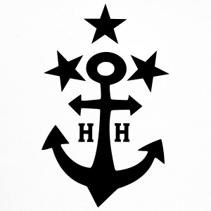 Anchor with stars, Hansestadt Hamburg - Trucker Cap