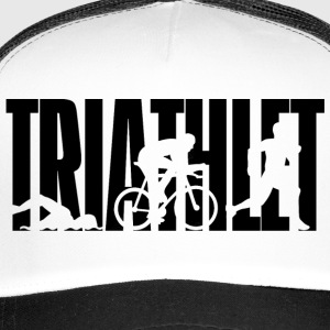 TRIATHLET - Triathlon - swimming - biking - races - Trucker Cap