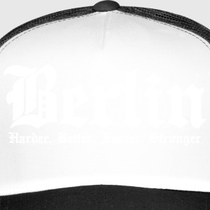 Berlin Harder Better Faster Stronger Capital - Trucker Cap