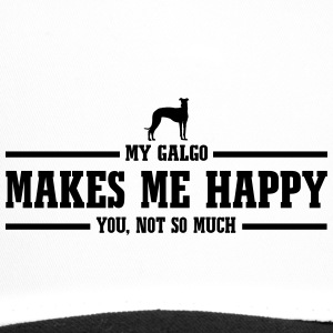 GALGO makes me happy - Trucker Cap