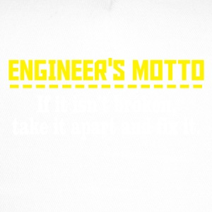 engineers motto - Trucker Cap