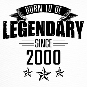 Born to be legendary since 2000 17 years - Trucker Cap