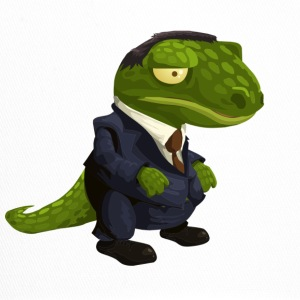 Evil crocodile in suit - Trucker Cap